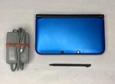 Nintendo 3DS XL SPR-001 Blue / Black Console- Tested Works! W/ 4GB Card