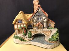 David Winter Collectors Guild, Birthday Cottage Aug 20, COA, Org Box, E-M Cond.