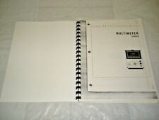 Hp Multimeter 3469A 03469-900002 Operating and Service Manual Two-Way Radio