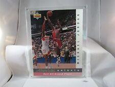 "1992/93 UPPER DECK JERRY WEST SELECTS MICHAEL JORDAN JUMBO CARD 11"" x 8 1/2"""