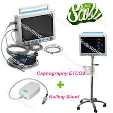 CONTEC-ICU-CCU-Patient-Monitor-6-Parameters-ETCO2-Trolley-stand-cart-USA-CE-FDA