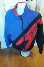 Speedo Nylon Front Zip Windbreaker Jacket Mens Womens Medium