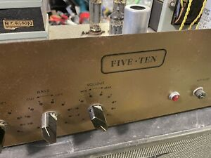 Vintage Five Ten Valve Amplifier