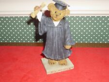 Boyds-Bear Stone Collection-Figurine-The Graduate-Time To Celebrate-New