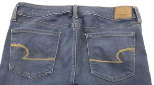 American Eagle Super Stretch Jeans Super Low Jegging Womens Sz 10 X-Long Stretch