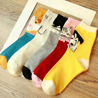 Lovely Cartoon Animal Pattern Women Girl Soft Cotton Socks Lady Warm Socks