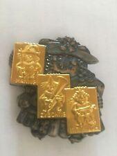 🏅 RARE Médaille-plaquette CARNAVAL/ FASNACHT Basel année 1987 bicolore