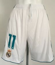 REAL MADRID 2017/18 HOME SHORTS No.11 BY ADIDAS SIZE ADULTS SMALL BRAND NEW
