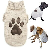 Large Dog Sweater Paw Patch  2XL 3XL - Cotton Knit Jumper Staffy Allergies