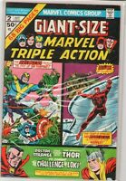 Giant Size Marvel Triple Action #2 Avengers Thor Dr Strange Daredevil 6.0