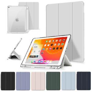 """Stifthalter Smart Cover Apple iPad (10.2"""") 7 und 8. Gen Pencil Case Schutz Hülle"""