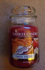 NUOVO YANKEE CANDLE vaso grande 22oz Candela di Tarte Tatin