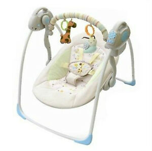 Baby Cradle to Sleep Musical Rocking Chair Electric Swing Bouncer Crib Motion