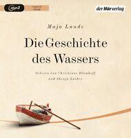 MAJA LUNDE/ LACHER/ BLUMHOFF-PEARCE - DIE GESCHICHTE DES WASSERS   MP3 CD NEW