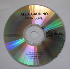 Alex Gaudino - I'm In Love - CD Single Promo