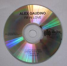 Alex Gaudino - I'm In Love - CD Single Promo