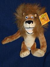 """MADAGASCAR LION """"ALEX"""" 9"""" Disney Plush w/Tag"""