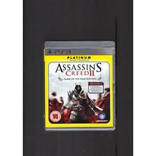 Jeux vidéo manuels inclus Assassin's Creed PAL
