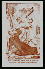 SANTINO   SAN VENTURA MARTIRE  IMAGE PIEUSE - HOLY CARD SANTINI