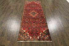 Persian Traditional Vintage Wool  2.8 X 7.4 Handmade Rugs Oriental Rug Carpet