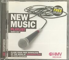 New Music Playlist March 2007 (Various Artists) Free UK Post