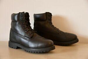 Timberland Women's 6 inch premium boots, US 7, black
