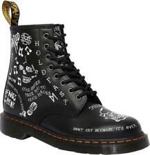NIB Dr. Martens 1460 SCRIBBLE 8-Eye Boot Backhand Leather R25245009