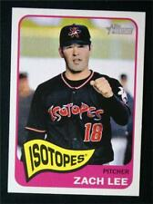 2014 Topps Heritage Minors #17 Zach Lee - NM-MT