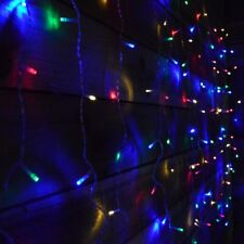 Premier 1.3m x 1.8m 240 LED Christmas curtain  Window Light - Multi Coloured