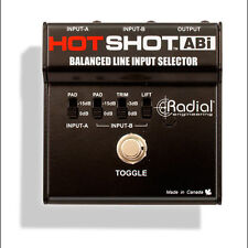 Radial HOTSHOTABI Balanced XLR Dual Input Switcher - NEW!