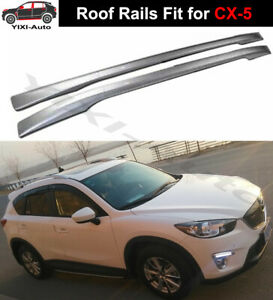 2pcs Fits for Mazda CX-5 CX5 2012-2016 roof rails Roof Rack Side Rail Bars