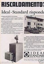 Publicité Advertising 106 1968 Idéal Standard chaudière au gaz 1