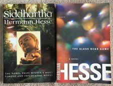Lot 2 Herman Hesse: Siddhartha HC & The Glass Bead Game - Trade Paperback