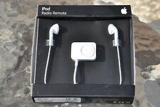 Apple iPod FM Radio Remote Tuner Control for iPod Video / Nano MA070G/D ORIGINAL