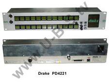 Drake pd4221-1 - 2ru LCD key panel