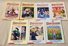 Lot 7 BABY SITTERS LITTLE SISTER Series Scholastic Chapter Books ANN M. MARTIN