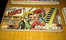 RACCOLTINA / RACCOLTA STRISCIA CAPITAN MIKI #  65-CONTRO EL LOCO - ED DARDO-FS1