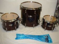 NEW PEARL REFERENCE PURE 3 PIECE TOM SHELL PACK BLACK CHERRY #335