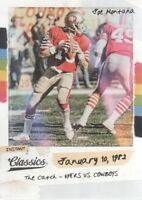 2018 Classics Football Instant Classics #7 Joe Montana San Francisco 49ers