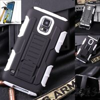 SHOCKPROOF PROTECTIVE HARD CASE COVER & TEMPERED GLASS FOR VARIOUS MOBILE PHONES