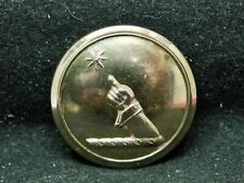 Denison ~ Arm w Finger Pointing At A Star 28mm Gilt Livery Button Firmin 19th C