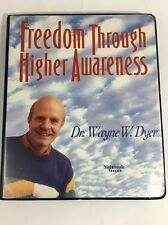 Freedom Through Higher Awareness 6 Audio Cassette Tape Set Wayne Dyer