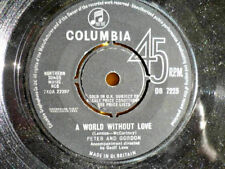 PETER AND GORDON = A WORLD WITHOUT LOVE / IF I WERE YOU - 1964 EXCELLENT VINYL
