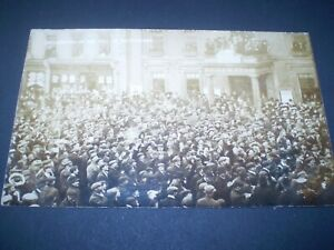 social history buckingham declaration of the poll real photo postcard