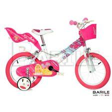 "Bike 14 "" Dino Bike Barbie Girl/Little Girl White/Pink"