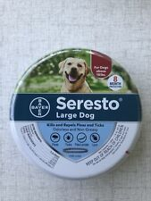 Bayer Seresto Flea and Tick Collar for Large Dog 8 Month Protection Treatment