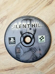Silent Hill (PlayStation 1, 1999) Black Label. Horror. Free Shipping. Rare.