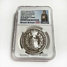 2017 Great Britain - House of Windsor 100th Anniversary *SILVER* PROOF PF 70 UC