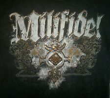Milifidel Black Motorcycle XL T-Shirt Pay Homage To US Military Biker MMA