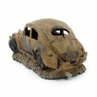 Resin Old Car Aquarium Decor Rust Car Wreck Fish Tank Landscape Ornament